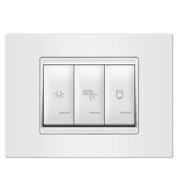 Indikator za kupatilo 3M horizontalno bela Aling EXP