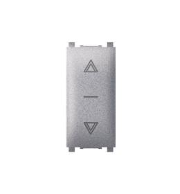 Sklopka za roletne 10AX 250V~ EXP 1M, silver