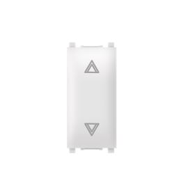 Taster sklopka za roletne 10AX 250V~ EXP 1M, bela