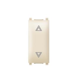 Taster sklopka za roletne 10AX 250V~ EXP 1M, krem
