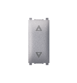 Taster sklopka za roletne 10AX 250V~ EXP 1M, silver