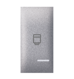 Tipka 1M bojler indikacijom silver Aling EXP