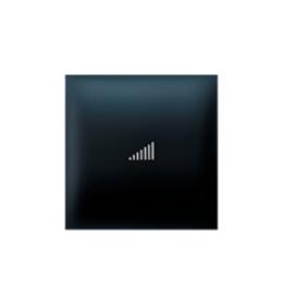 Taster EXP 2M sa oznakom pojačavanja, crni soft