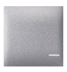 Tipka 2M sa indikacijom silver Aling EXP