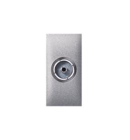 Priključnica antenska FM IEC F /F EXP 1M, silver