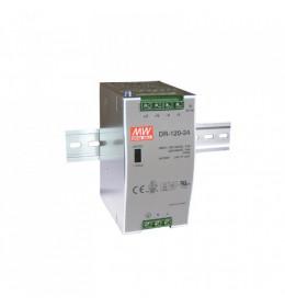 LED napojna jed.120W 24V/DC DR NA ŠINU M.W.