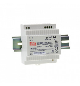 LED napojna jed.30W 24V DR na šinu DC M.W.