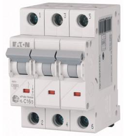 Automatski osigurač 10A 3-polni 6kA C Eaton