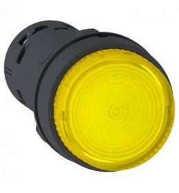 Taster svetleći LED Žuti 1NO 230 V AC Schneider