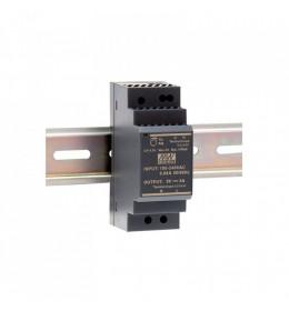 LED napojna jed.30W 24V HDR na šinu DC M.W.