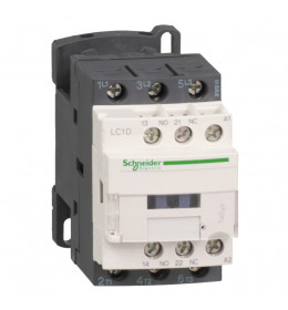 Kontaktor LC1D12D7 12A/3p 42VAC 1NO+1NC Schneider