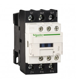 Kontaktor LC1D38Q7 38A/3p 380VAC 1NO+1NC Schneider