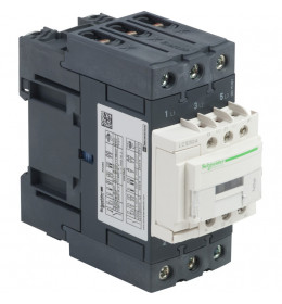Kontaktor LC1D50AB7 50A/3p 24VAC 1NO+1NC Schneider