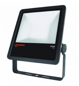 LED Reflektor.200W 230V 4000K CRNI IP65 LEDVANCE