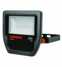 LED Reflektor .20W 230V 3000K CRNI IP65 LEDVANCE