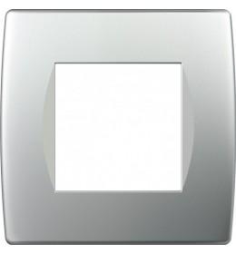 Okvir Soft 2M Srebrna Mat TEM