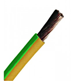 Provodnik P/F 10 mm² žuto-zeleni
