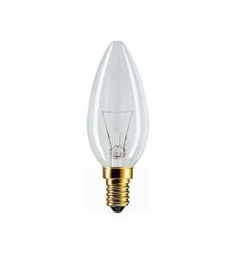 Sveća 25W E14 B35 bistra Philips