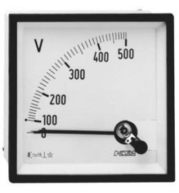 V-METAR 72x72 AC 500V